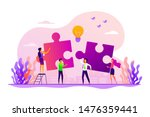 finding solution  problem... | Shutterstock .eps vector #1476359441