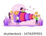 sales funnel and lead... | Shutterstock .eps vector #1476359501
