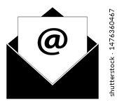 open envelope  envelope icon...