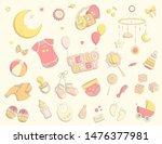 set of baby care items  feeding ...   Shutterstock .eps vector #1476377981