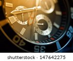 luxury watch  chronograph... | Shutterstock . vector #147642275