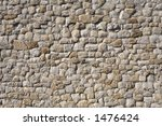 Detail Of A Stone Wall Of The...