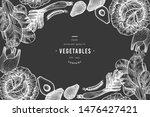 green vegetables design... | Shutterstock .eps vector #1476427421