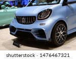 Customized Matte Blue Smart Fo...