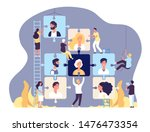 employment agency concept.... | Shutterstock .eps vector #1476473354