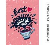 Lettering Best Grandma For...