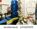 ships valves  main engine  ... | Shutterstock . vector #147659495