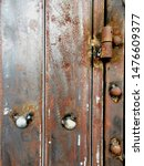 Backgroun Of Old Iron Rusty...