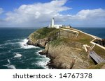South Stack Lighthouse Off The...