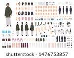 modern arab woman in... | Shutterstock .eps vector #1476753857
