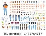 farmer or agricultural worker... | Shutterstock .eps vector #1476764357
