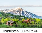 Mount Crested Butte  Colorado...