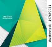 abstract triangle shape... | Shutterstock .eps vector #147697781
