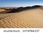 sand dunes of taklamakan desert ... | Shutterstock . vector #1476986237