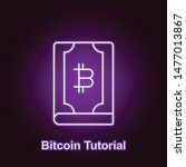 bitcoin key outline icon in...
