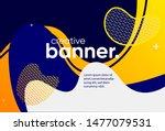 creative bright banner design... | Shutterstock .eps vector #1477079531