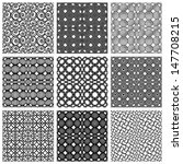 seamless geometric patterns set ... | Shutterstock .eps vector #147708215