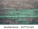 wood texture and green grunge... | Shutterstock . vector #147711161