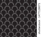 vector seamless pattern with... | Shutterstock .eps vector #1477128071