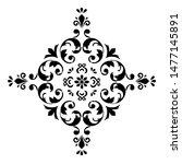 flower mandala. printable... | Shutterstock . vector #1477145891