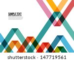 Abstract Colorful Triangle...