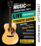 live performance guitar...   Shutterstock .eps vector #1477230617