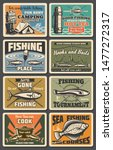 fishing sport  tourism and... | Shutterstock .eps vector #1477272317