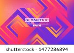 geometric background with... | Shutterstock .eps vector #1477286894