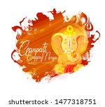indian religious ganesh... | Shutterstock .eps vector #1477318751