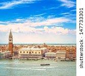 Venice Landmark  Aerial View O...