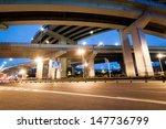 junction with light in shanghai | Shutterstock . vector #147736799