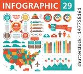 infographics design elements 29.... | Shutterstock .eps vector #147738161
