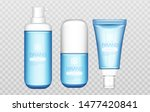 Winter Cosmetic Tubes Set...
