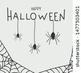 Postcard Happy Halloween With...