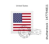 United States Flag Postage...