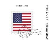 United States Flag Postage...