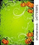 halloween poster   vector  | Shutterstock .eps vector #147755891