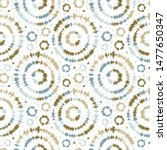 seamless pattern tie dye... | Shutterstock .eps vector #1477650347