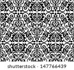 ornamental floral background.... | Shutterstock .eps vector #147766439