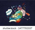 cartoon vector illustration of... | Shutterstock .eps vector #1477702337