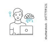 data scientist simple vector...   Shutterstock .eps vector #1477759121