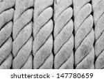 old ship ropes sack as black... | Shutterstock . vector #147780659
