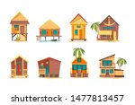 Tropical Houses. Bungalow Beac...