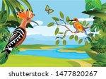 nature wildlife scene... | Shutterstock .eps vector #1477820267
