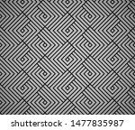 abstract geometric pattern with ... | Shutterstock .eps vector #1477835987