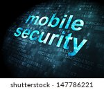 protection concept  pixelated... | Shutterstock . vector #147786221