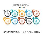 regulation infographic design...