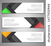 web banner label background... | Shutterstock .eps vector #1477920944