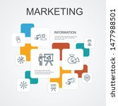 marketing infographic 10 line...