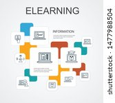 elearning infographic 10 line... | Shutterstock .eps vector #1477988504
